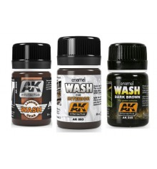 AK washes