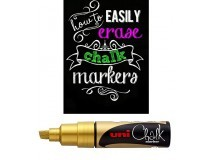 marcadores Uni Chalk