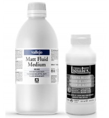 mediums pittura acrilica