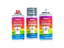 pintura textil en Spray Ghiant H2O