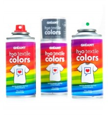 pintura textil Spray Ghiant H2O