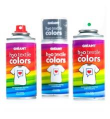 pittura tessile Spray Ghiant H2O