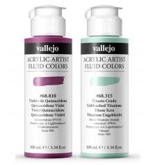Vallejo Acrylic Artist Fluid Colors