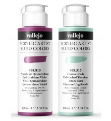 Vallejo Acrylic Artist Fluid Colors