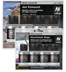 Metal Color paint sets