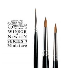 Pincel Winsor & Newton Series 7 Miniature Pelo de Marta Kolinsky