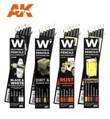 AK weathering pencils sets