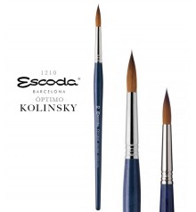 S.1210 Escoda Optimo Kolinsky Sable Brushes