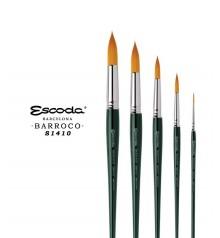 Escoda Barroco Gold Toray Synthetic Brushes