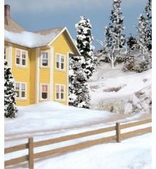 snow by woodland scenics