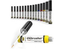 Oilbrusher scale models oil paint Ammo Mig