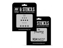 AFV Markings Vallejo Hobby Stencils