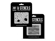 Texture Effects Vallejo Hobby Stencils