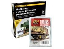 weathering para modelos ferroviarios