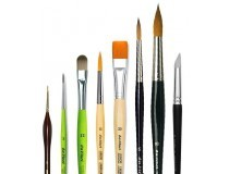 Pinzells per a pintar a l'aquarel·la