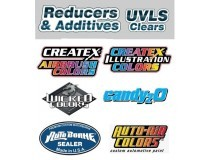 Createx airbrush reducers, additives and varnishes