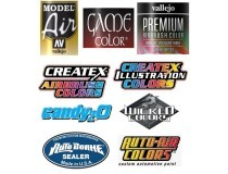airbrush reducers, additives and varnishes