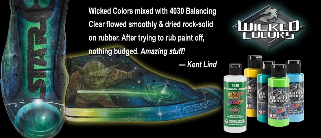 WICKED COLORS AIRBRUSHING PAINTS